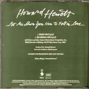 Howard Hewett - Let Me Show You How To Fall In Love