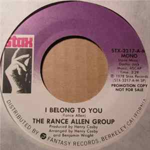 The Rance Allen Group - I Belong To You